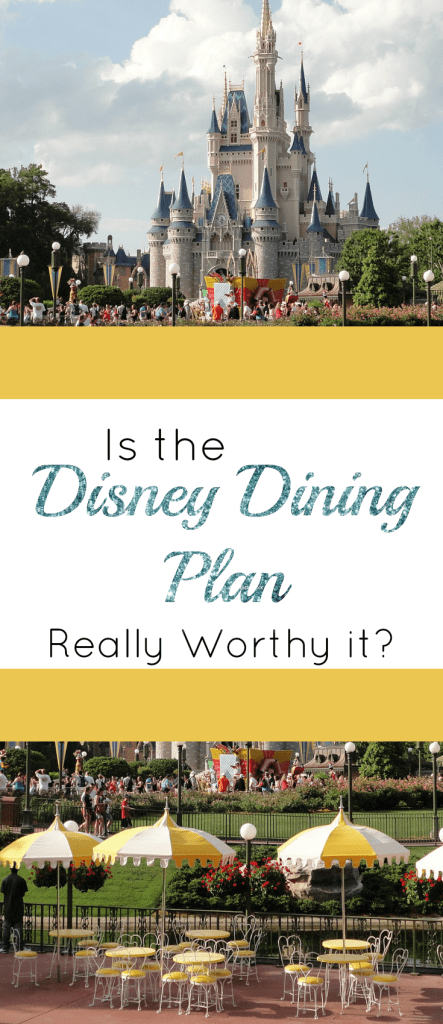 Is the Disney Dining Plan Really Worth it? | The Pixie Dusted Planner
