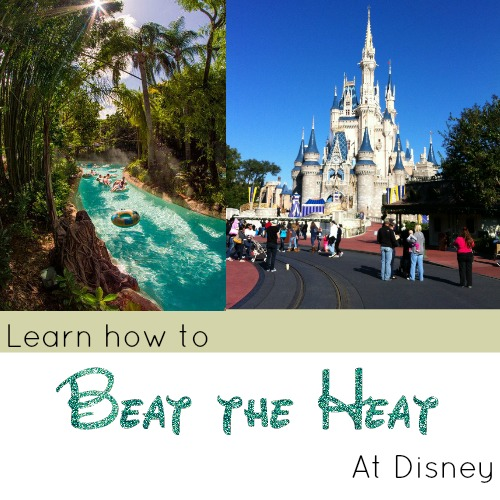 How to Stay Cool in Disney when its 90 Degrees