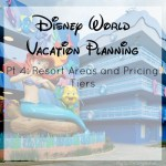 Disney World Planning Pt 4: Choosing a Hotel – Resort Areas and Pricing Tiers