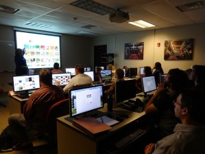 Social Media Training at NCSU's Technology Training Solutions; McKimmon Center.