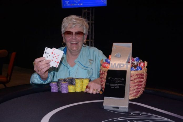 Norman Wins WPT Choctaw Festival Of Champions Free Roll