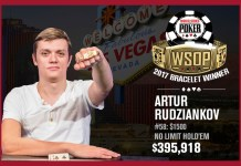 Artur Rudziankov Wins 2017 World Series of Poker $1,500 NLHE Event