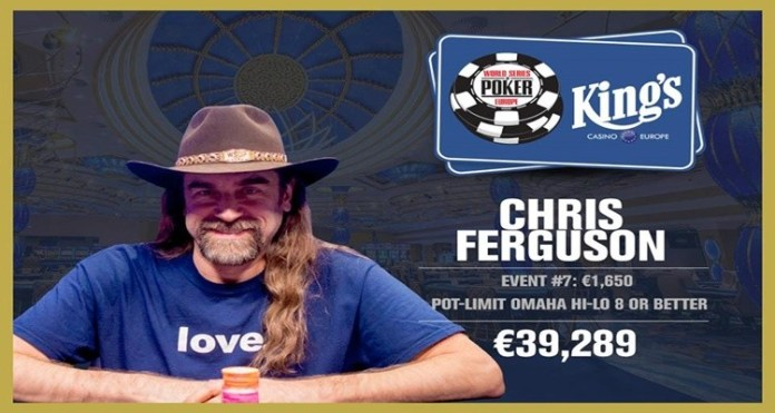 WSOP Player of the Year 2017 title won by Chris Ferguson
