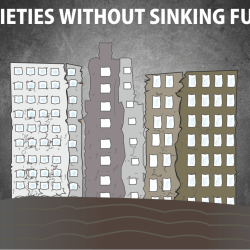 building without managing sinking fund, with sinking fund