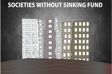 Society without Managing Sinking Fund Properly