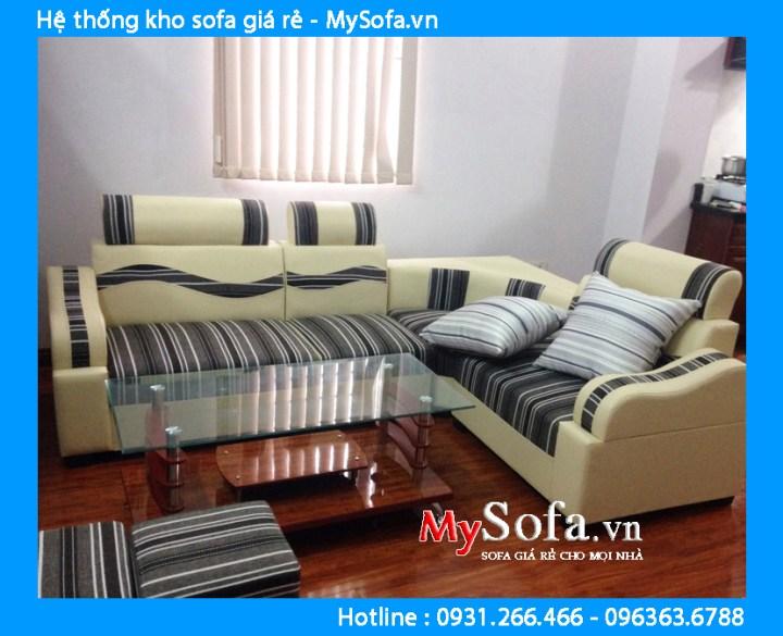 Bộ ghế sofa chung cư giá rẻ nhất tại Hà Nội