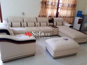 Bộ ghế Sofa da cao cấp, sang trọng AmiA SFD124