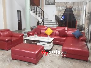 Bộ ghế Sofa góc sang trọng cho phòng khách lớn AmiA SFD124C