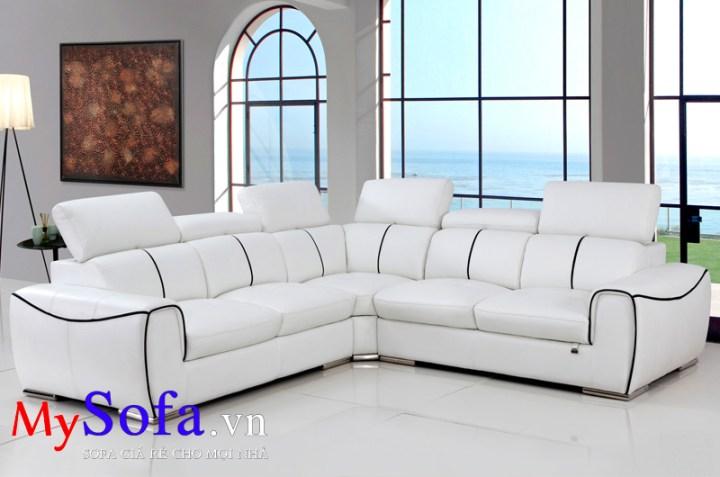 Mẫu ghế Sofa góc kê phòng khách AmiA SFD107