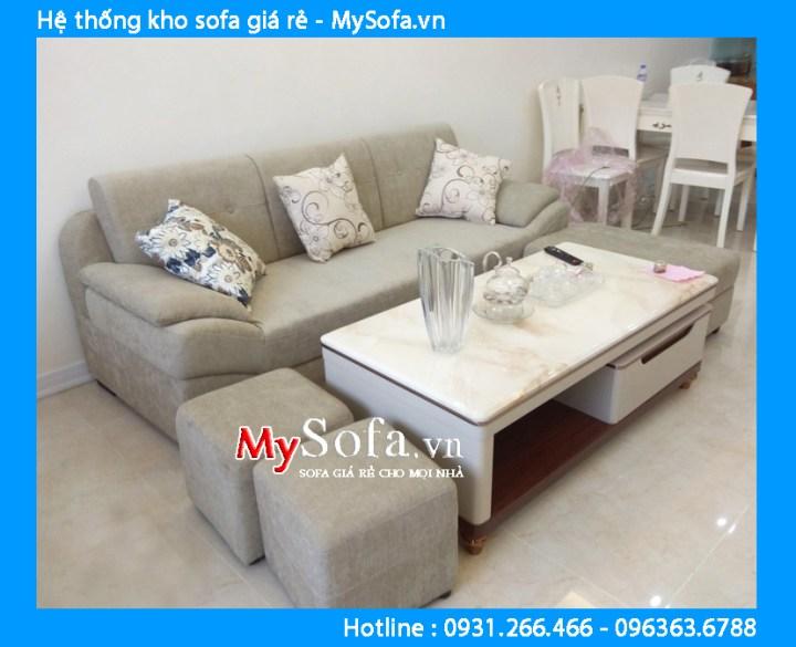 Bộ ghế sofa nhà chung cư nhỏ giá rẻ