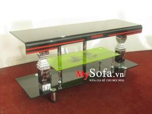 Mẫu kệ tivi kính cường lực kích cỡ nhỏ AmiA KTV207