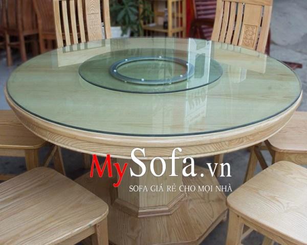 Hình ảnh chụp mặt của bàn ăn đẹp, sang trọng AmiA BA011