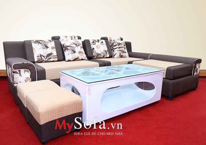 Bộ ghế Sofa góc dạng nỉ AmiA SFN014