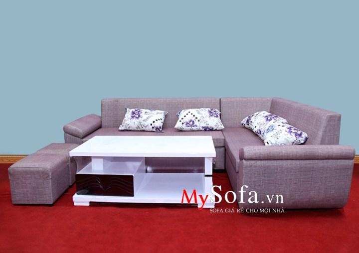 Mẫu Sofa nỉ dạng góc hiện đại AmiA SFN012 | mySofa.vn