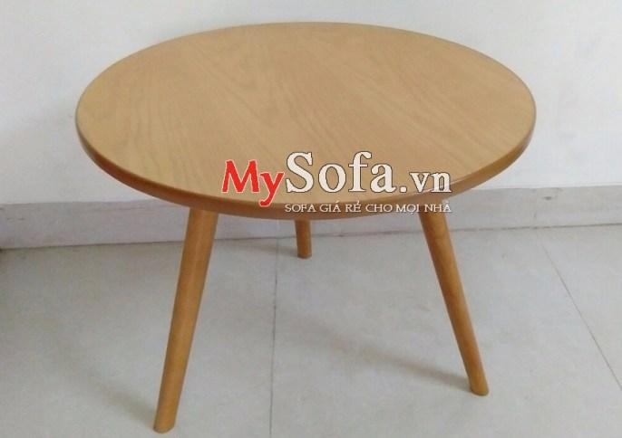 Mẫu bàn trà gỗ kê Sofa AmiA BTR164   mySofa.vn