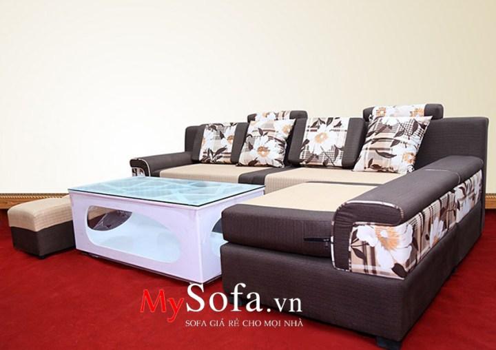 Mẫu ghế Sofa nỉ dạng góc hiện đại AmiA SFN014 | mySofa.vn