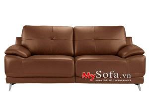 Mẫu ghế sofa văng da AmiA SFD1308 hiện đại và sang trọng cho phòng khách