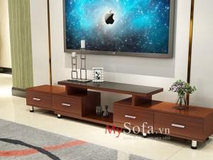 Mẫu kệ tivi gỗ đẹp, giá rẻ AmiA KTV235