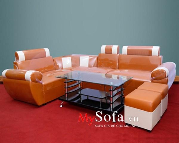Mẫu Sofa da đẹp, giá rẻ AmiA SFD027