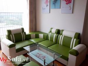 Mẫu Sofa da đẹp giá rẻ cho mọi nhà AmiA SFD080