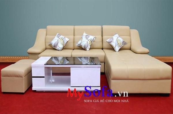 AmiA SFD039 mẫu Sofa da hiện đại và sang trọng