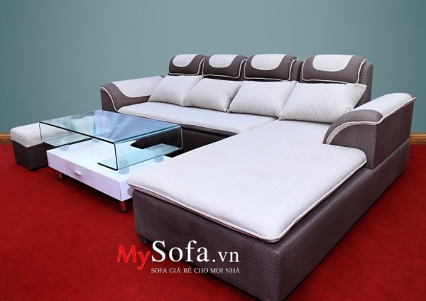 Sofa nỉ dạng góc AmiA SFN010