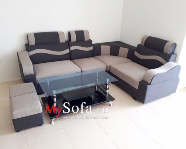 Mẫu Sofa pha nỉ đẹp, giá rẻ AmiA
