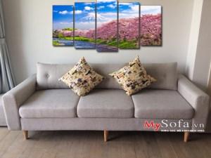 mẫu sofa văng đẹp 3 chỗ ngồi cho phòng khách AmiA SFV114