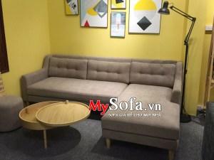 Sofa góc chất liệu nỉ đẹp, sang trọng AmiA SFN170