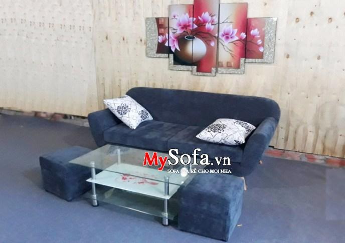 Mẫu Sofa văng chất liệu nỉ AmiA SFV116 | mySofa.vn