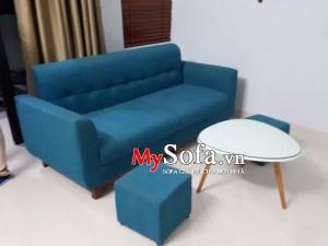 Mẫu Sofa văng nỉ tạo độ êm ái AmiA SFN109 | mySofa.vn