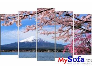 Tranh phong cảnh núi phú sĩ cự đẹp AmiA 1429