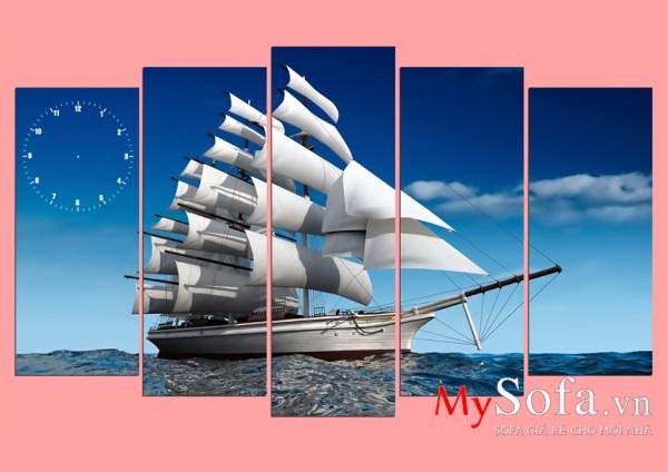 Bức tranh thuận buồm xuôi gió ý nghĩa AmiA 330 | mySofa.vn