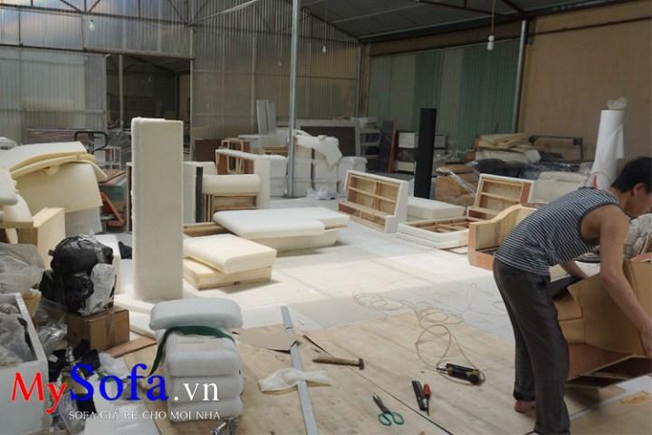 Xưởng sản xuất SOFA theo yêu cầu tại Hà Nội - MySofa.vn