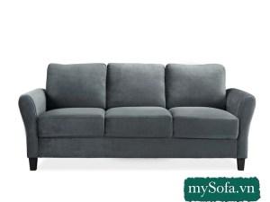 Sofa băng 3 chỗ ngồi kê phòng khách nhỏ