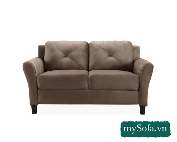 Mẫu sofa văng nhỏ mini đẹp MyS-2001A