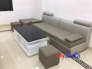 Ghế Sofa văng giá rẻ bình dân AmiA SFD185