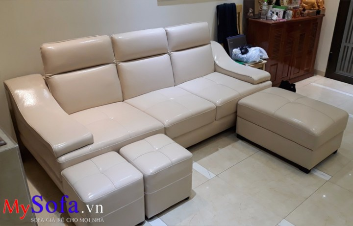MySofa.vn bán ghế Sofa văng đẹp giá rẻ bình dân AmiA SFD100
