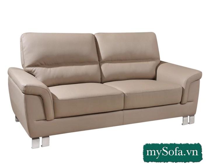 mẫu sofa văng da đẹp