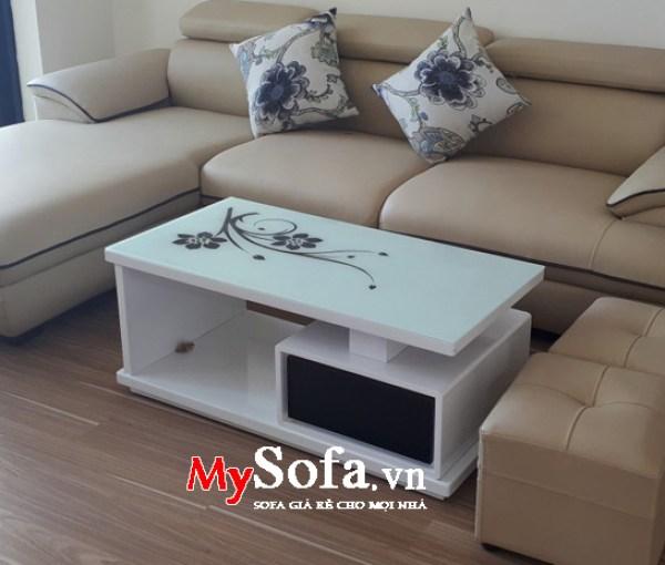 ban sofa đẹp giá rẻ làm từ gỗ công nghiệp
