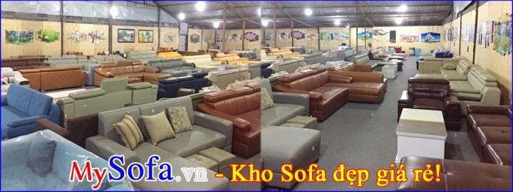 Kho bán Sofa đẹp giá rẻ tại phố Trần Hữu Dực, Nam Từ Liêm, Hà Nội
