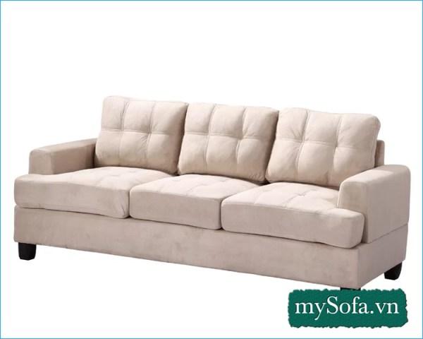 Mẫu sofa đẹp giá rẻ màu xám trắng MyS18224