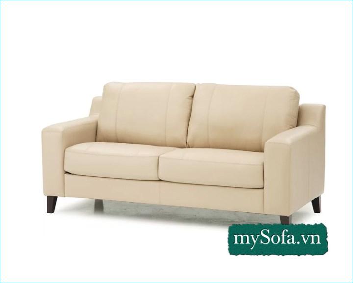 Sofa phòng ngủ màu kem phớt vàng