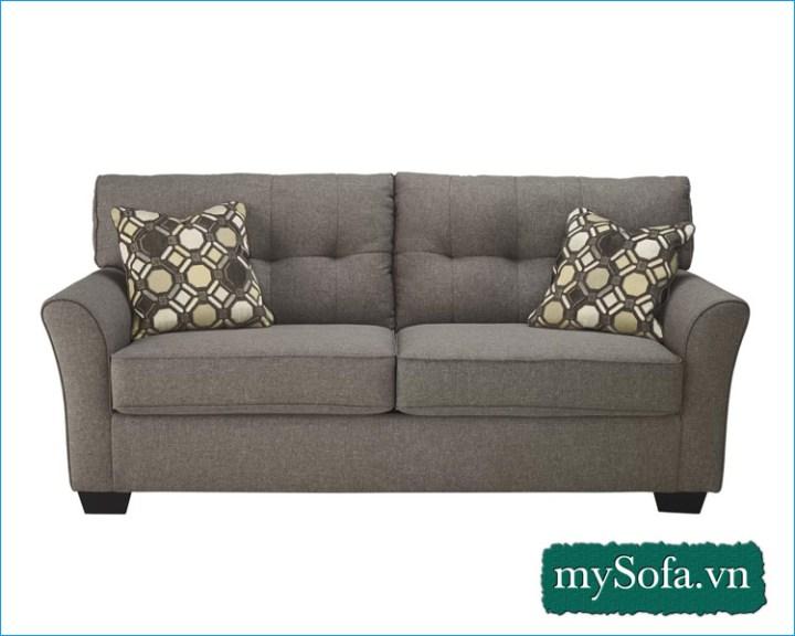 mẫu ghế sofa văng nỉ giá rẻ