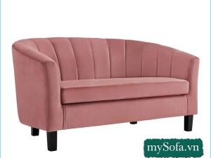 mẫu ghế sofa MyS-19077 thiết kế kiểu quây tròn
