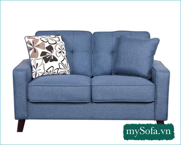 Hình ảnh mẫu ghế sofa nỉ giá rẻ MyS-19036