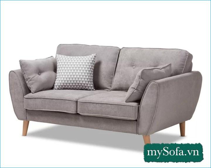 mẫu ghế sofa văng nỉ thiết kế đơn giản hiện đại MyS-19097