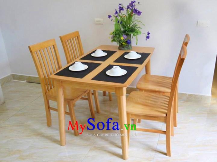 Bàn ghế ăn đẹp hiện đại
