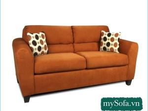 Sofa màu vàng sẫm, nâu đất...hợp tuổi Tân Mùi
