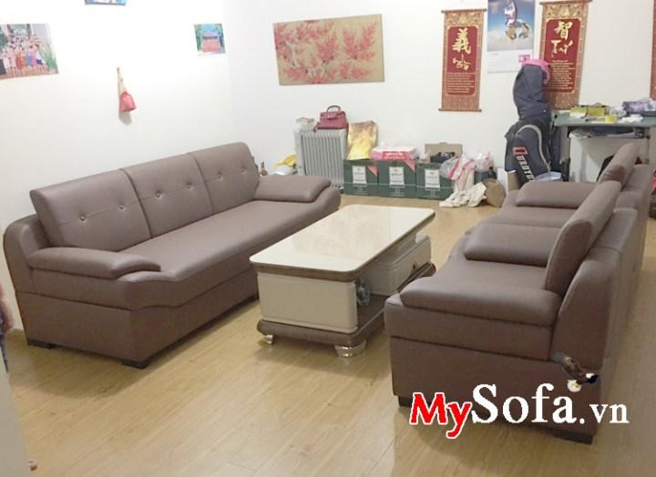 Bộ bàn ghế sofa phòng khách đẹp giá rẻ